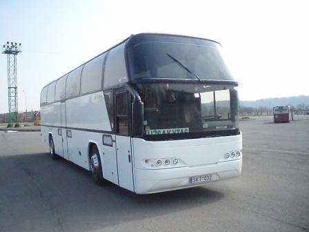 autobuso nuoma neoplan 116
